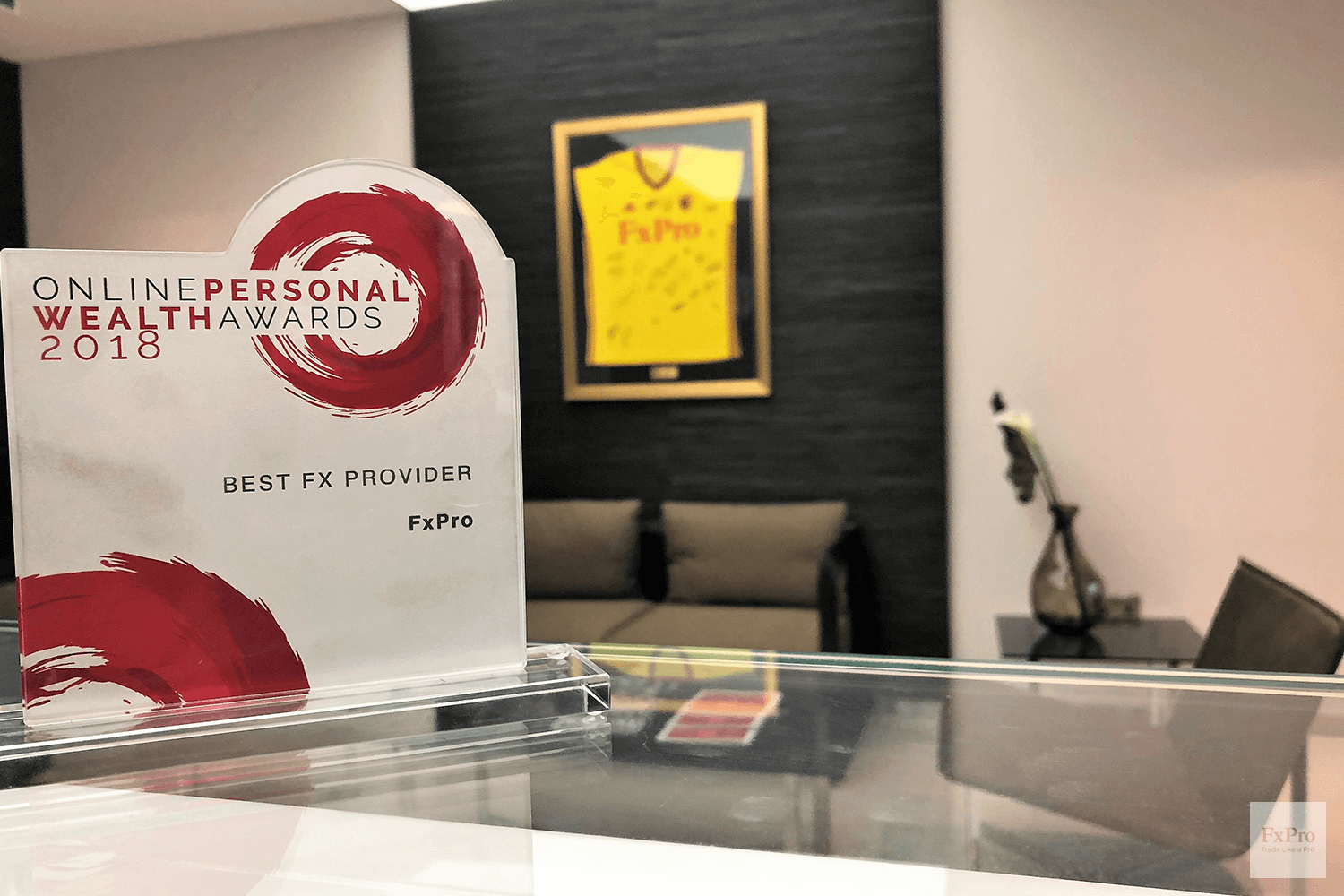 FxPro became a winner of the Online Personal Wealth Awards 2019